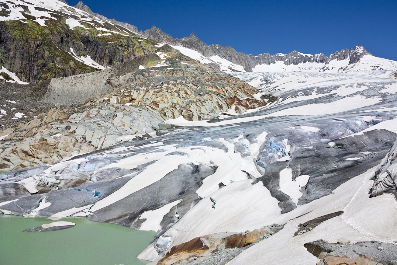 Glaciar Furka.