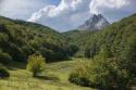El Gilbo desde los bosques de Riaño