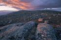 Últimas luces sobre la Sierra de Eljas