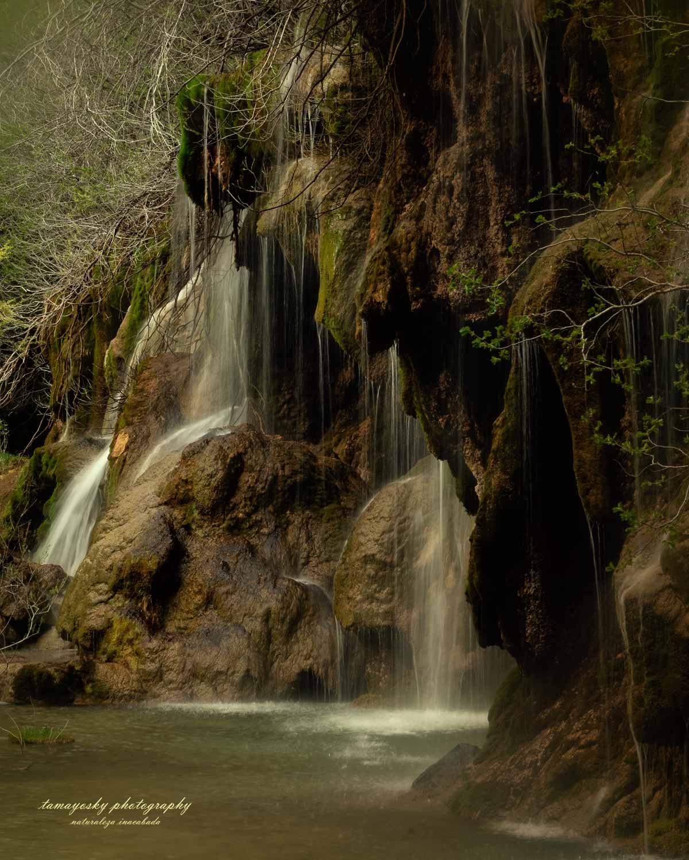 Cascada del nacimiento del río Cuervo