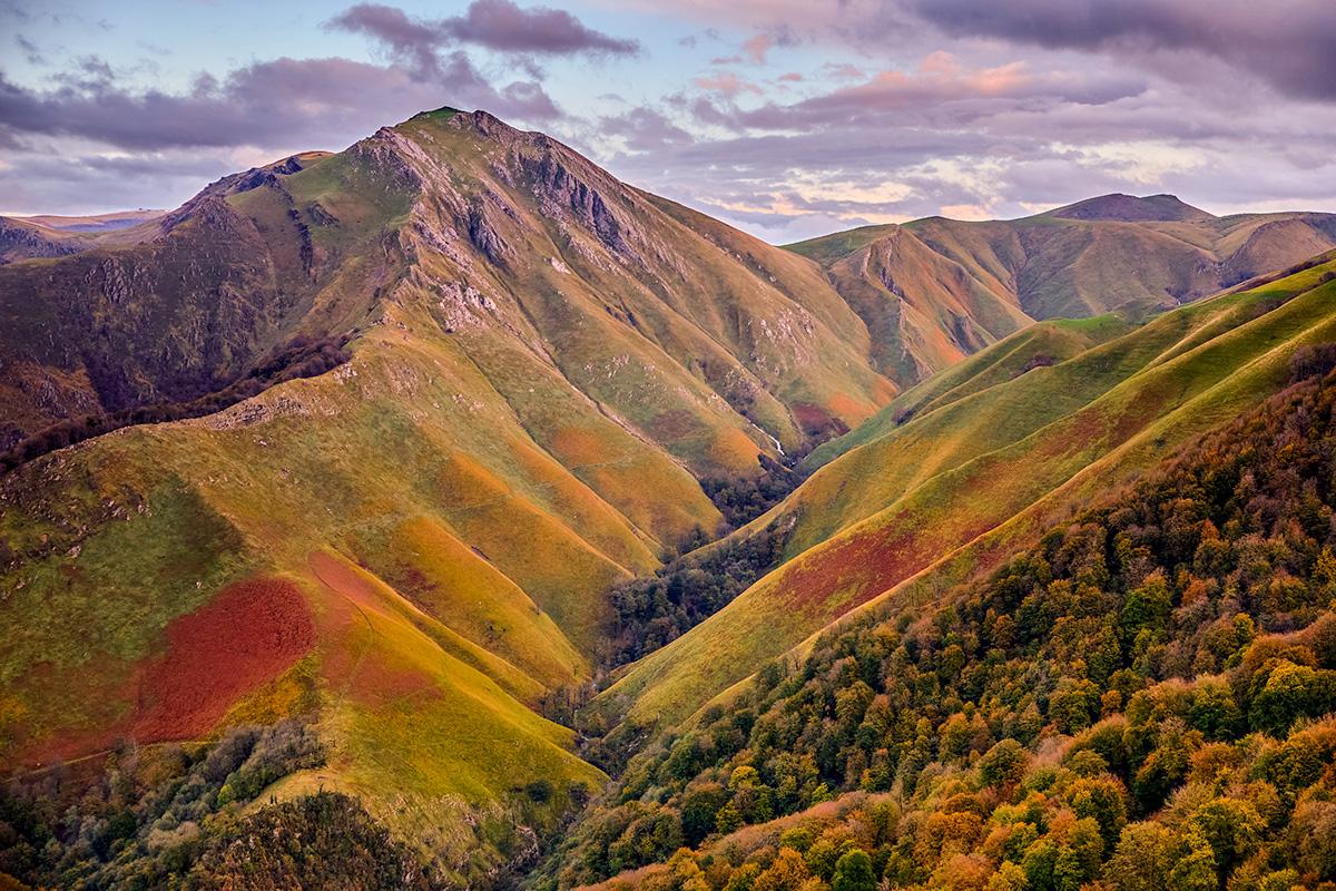 otoño en la montaña